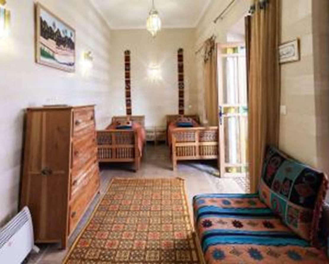 chambre Marrakech, version 3 lits simples